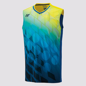 2019 YONEX MEN'S SLEEVELESS TOP - 10283 BLUE