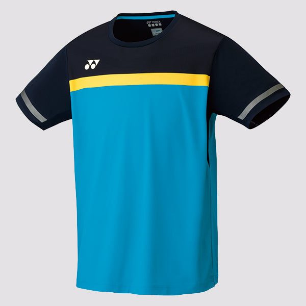 2019 YONEX MEN'S CREW NECK SHIRT - 10284 MARINE BLUE