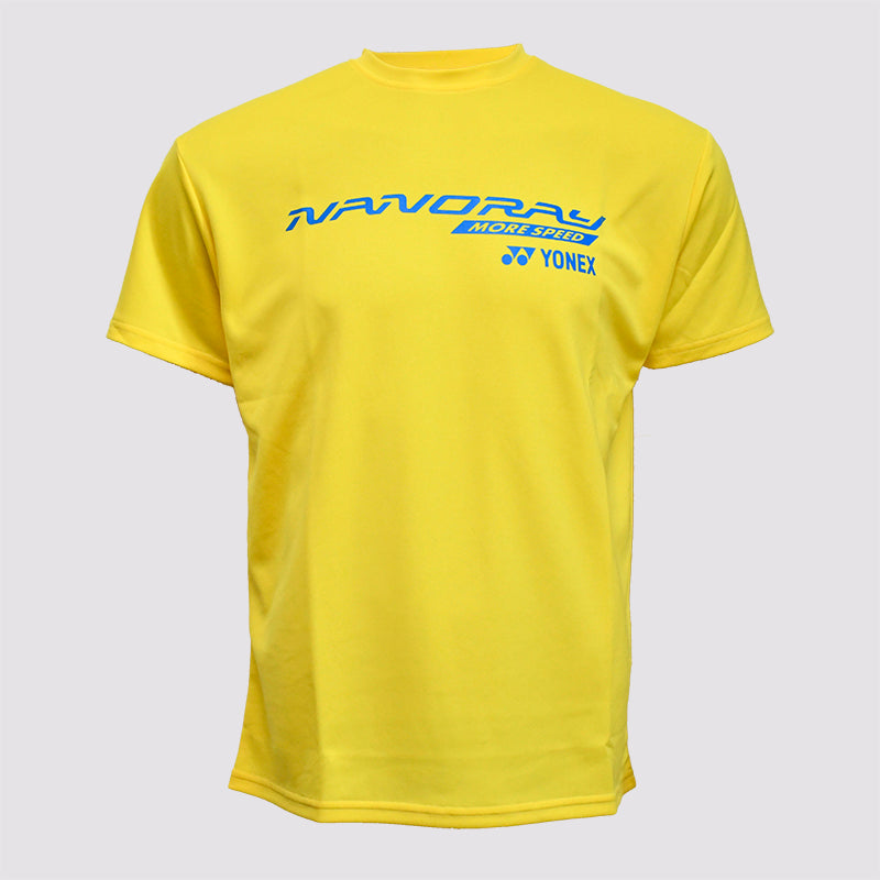 2014 YONEX MEN'S T-SHIRT - 16270EX FLASH YELLOW