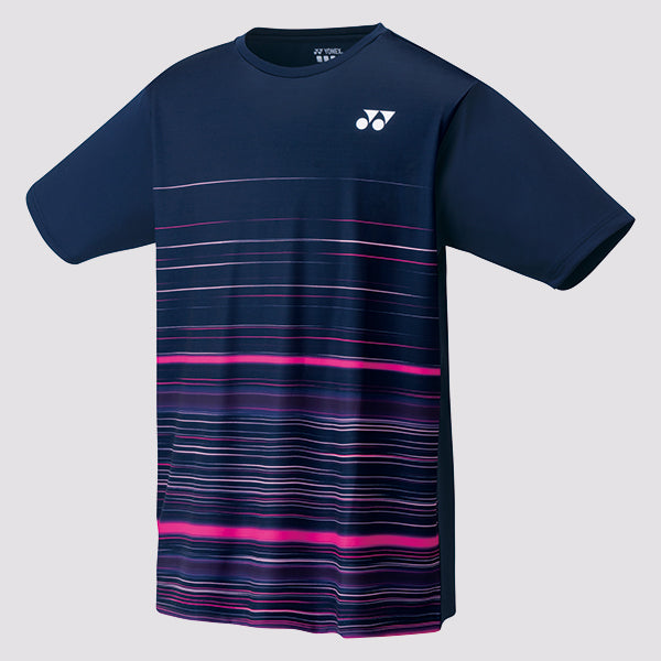 2019 YONEX MEN'S T-SHIRT - 16368 NAVY BLUE