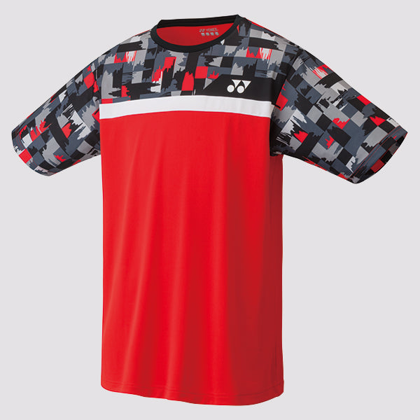 2019 YONEX MEN'S T-SHIRT - 16370 FIRE RED