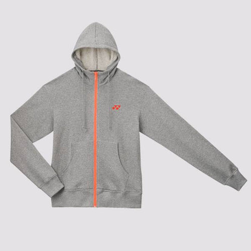 2014 YONEX Performance Zip Hoodies - Gray [U6436GR]