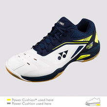 Load image into Gallery viewer, 2018 YONEX POWER CUSHION 65Z WIDE BADMINTON SHOES - DARK NAVY