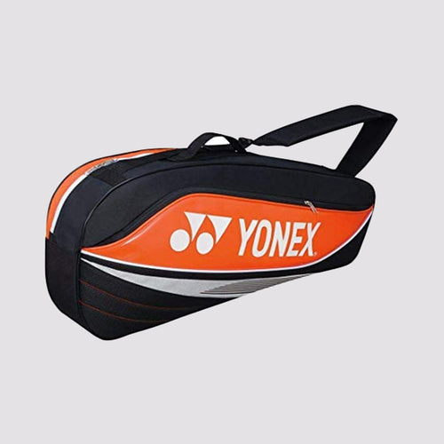 2015 YONEX BADMINTON RACKET BAG 7523EX - ORANGE [3 PCS]