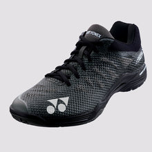 Load image into Gallery viewer, 2018 YONEX POWER CUSHION AERUS 3 MENS BADMINTON SHOES - BLACK