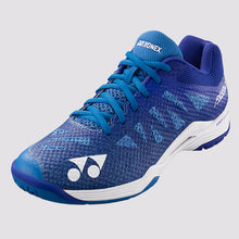 Load image into Gallery viewer, 2018 YONEX POWER CUSHION AERUS 3 LADIES BADMINTON SHOES - BLUE