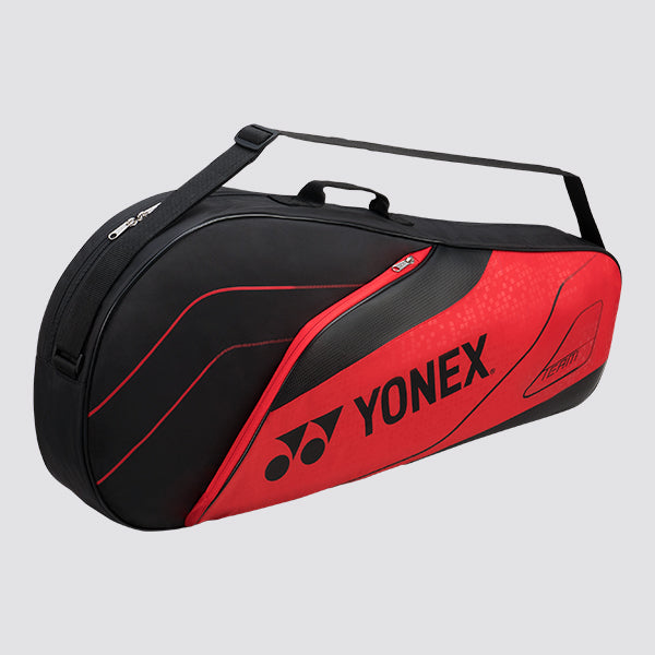 2019 YONEX TEAM SERIES BADMINTON RACKET BAG 4923 - RED [3 PCS]