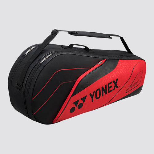 2019 YONEX TEAM SERIES BADMINTON RACKET BAG 4926 - RED [6 PCS]