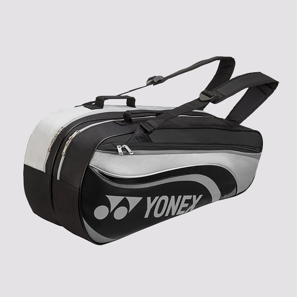 2018 YONEX ACTIVE BADMINTON RACKET BAG 8826EX - GRAY [6 PCS]