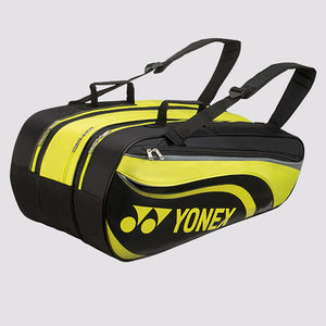 2018 YONEX ACTIVE BADMINTON RACKET BAG 8829EX - LIME [9 PCS]