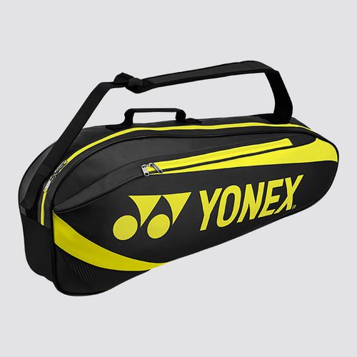2019 YONEX ACTIVE BADMINTON RACKET BAG 8923 - BLACK/LIME [3 PCS]