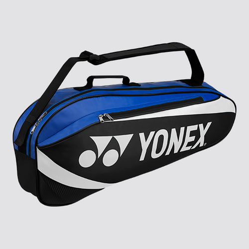 2019 YONEX ACTIVE BADMINTON RACKET BAG 8923 - BLUE/BLACK [3 PCS]