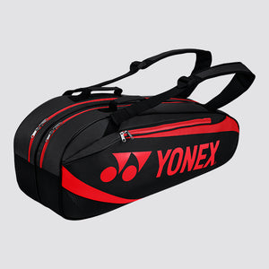 2019 YONEX TOURNAMENT ACTIVE SERIES BAG 8926 - BLACK/RED [6 PCS]