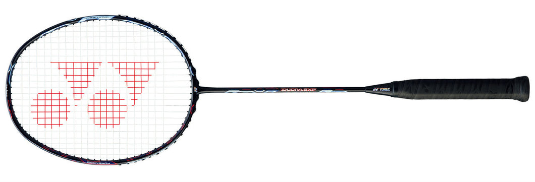 2018 YONEX DUORA 8XP BADMINTON RACKET - AQUA NIGHT BLACK