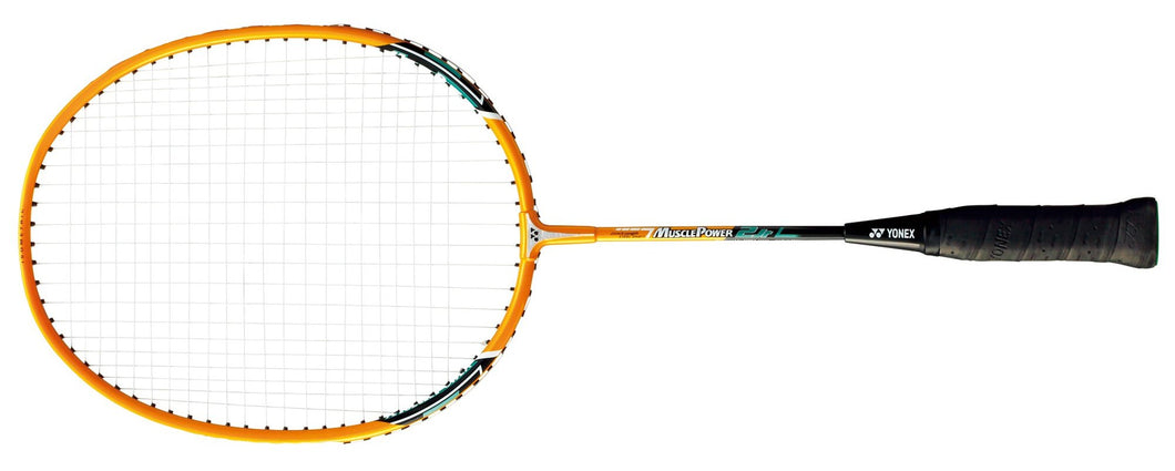 2019 YONEX MUSCLE POWER 2 JUNIOR BADMINTON RACKET [STRUNG] - BRIGHT YELLOW