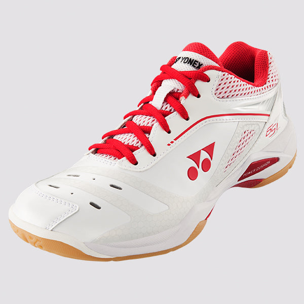 2018 YONEX POWER CUSHION 65Z LADIES BADMINTON SHOES - WHITE/RED
