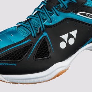 2018 YONEX POWER CUSHION 35 BADMINTON SHOES - BLACK/BLUE