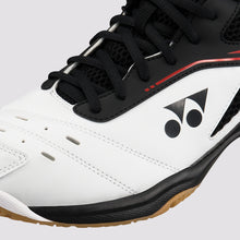 Load image into Gallery viewer, 2018 YONEX POWER CUSHION 65R2 BADMINTON SHOES - WHITE/RED