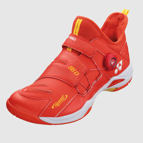 2020 YONEX POWER CUSHION 88 DIAL BADMINTON SHOES - BRIGHT RED