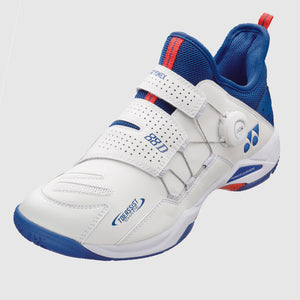 2020 YONEX POWER CUSHION 88 DIAL BADMINTON SHOES - WHITE/BLUE