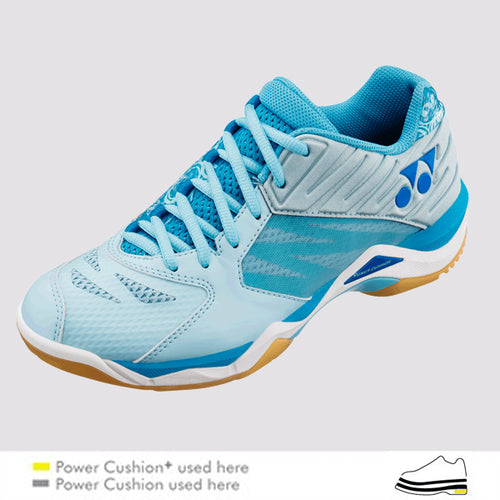 2018 YONEX POWER CUSHION COMFORT Z LADIES BADMINTON SHOES - PALE BLUE