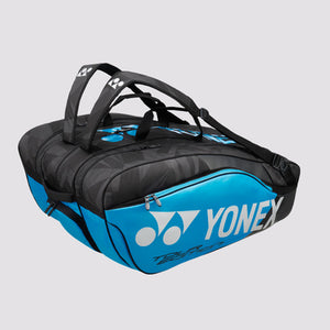 2018 YONEX PRO BADMINTON RACKET BAG 98212EX - INFINITE BLUE [12 PCS]