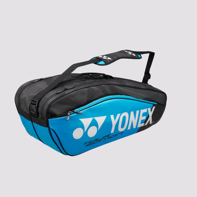 2018 YONEX PRO REPLICA BADMINTON RACKET BAG 9826EX - BLUE [6 PCS]
