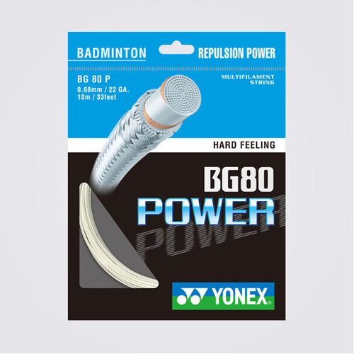YONEX BG80 POWER BADMINTON STRINGS