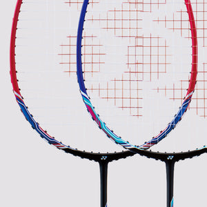 2019 YONEX NANORAY 20 BADMINTON RACKET [STRUNG] - BLACK/RED
