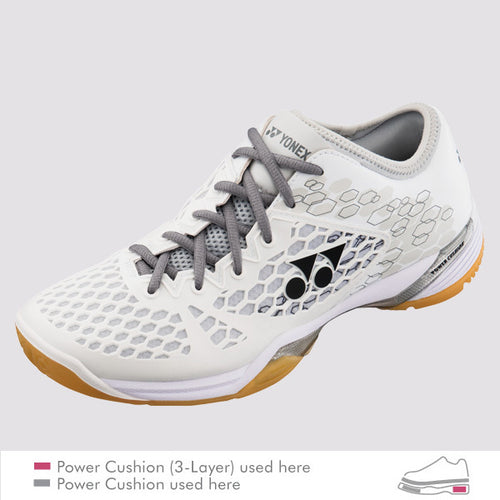 2018 YONEX POWER CUSHION 03Z MEN BADMINTON SHOES - WHITE