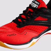 Load image into Gallery viewer, 2018 YONEX POWER CUSHION COMFORT ADVANCE 2 BADMINTON SHOES - RED