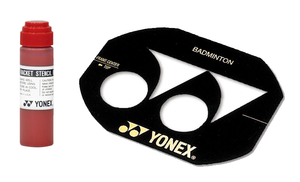 YONEX STENCIL KIT - CARD & INK [RED]