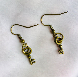 Key of Love Earrings