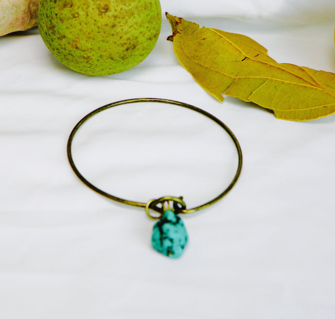 Turquoise & I Bangle