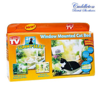 Hanging Window Cat Bed - A sunny spot for your kitty to watch the world go by