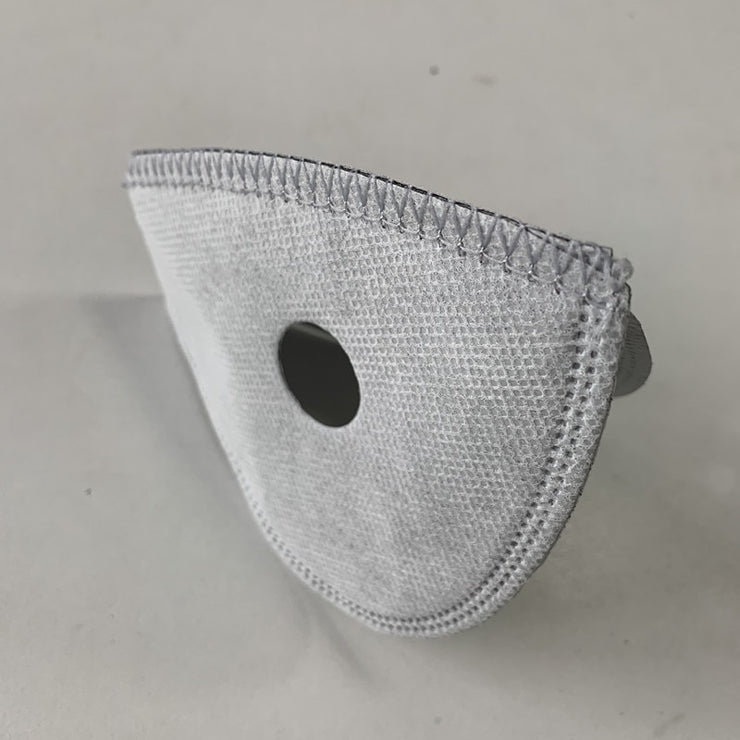 N99 Filter Replacement for Neoprene Sport Mask - 5 Layer Activated Carbon, Anti-Pollution PM2.5