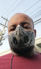 Load image into Gallery viewer, Anti-Pollution Sport Mask - Neoprene, N99 PM2.5 Carbon Filtration, Anti-Bacterial, Double Breathing Valves