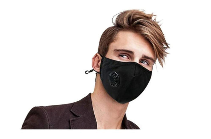 N95 Anti-Pollution Cotton Mask - N99 PM2.5 5-Layer Activated Carbon Filter, with Breathing Valve