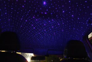 Starry Night - LED Roof Projector, Adjustable Atmospheric Lighting