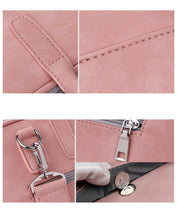 Load image into Gallery viewer, Women's PU Leather Laptop Bag - Large Capacity Notebook Messenger