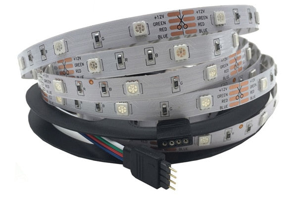 Magic LED Lighting Strips - Wifi/Remote Controlled RGB & RGB+WW, Complete Set