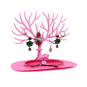 Majestic Stag - Personal Jewelry Display Stand, Decorative Accessory Organizer