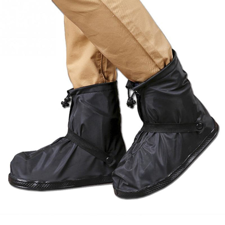 Waterproof Shoe Covers - Reusable Non-Slip Rain Boot Tubes