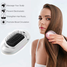 Load image into Gallery viewer, Ionic Electric Hairbrush - Massage Scalp & Remove Static, Frizz Easily