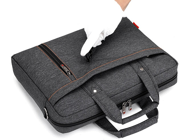 Unisex Nylon Urban Laptop Bag - Large Capacity Notebook/Tablet Messenger