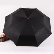 Devil Skull Handle Umbrella - Windproof, Automatic Open Control