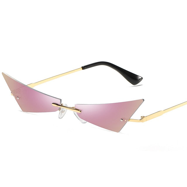 Sabre - Small Narrow Cat Eye Sunglasses