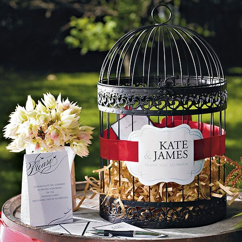 Classic Round Decorative Birdcage - Wedding Wonders