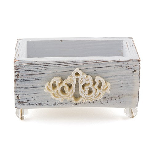 Vintage Shabby Chic Wedding Favour Boxes (6) - Wedding Wonders