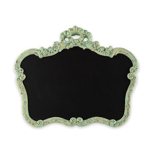 Blackboard in Ornate Vintage Frame - Wedding Wonders
